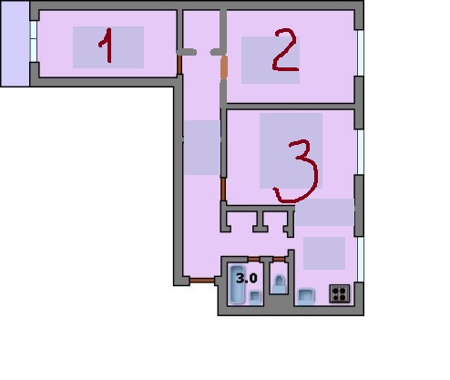Дизайн квартиры в доме 1605