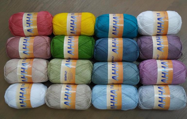 Нитка для вязания анна 16