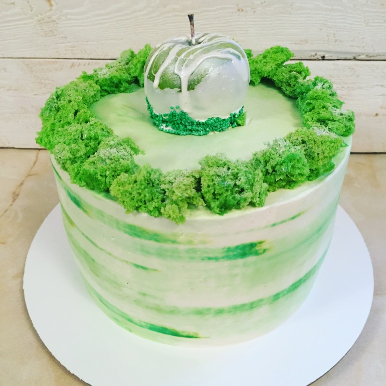 Как сделать цветную карамель для украшения торта