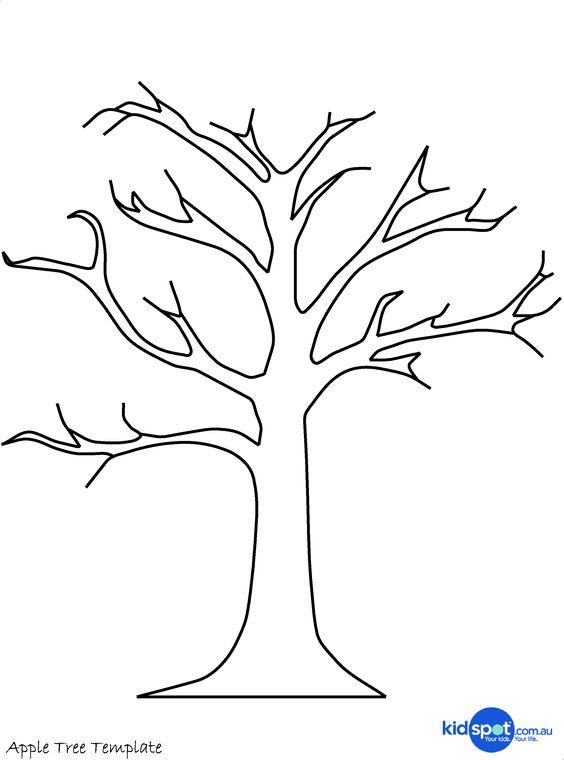 Ствол дерева раскраски
