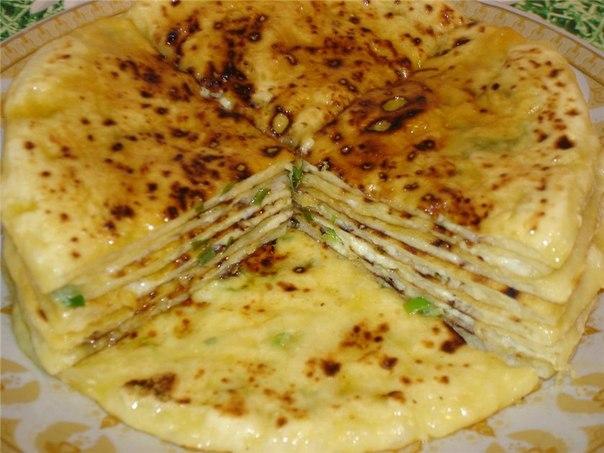чеченской с кухни лепешек тыквой Рецепт с творогом
