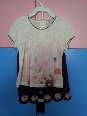 Продам костюм для девочки 1,5-2 года, цена 400 рублей