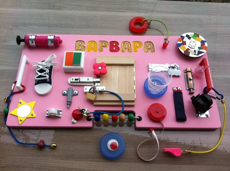 Как сделать бизиборд для ребенка своими руками мастер класс 162