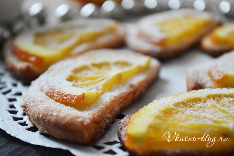 Апельсиновые печенья рецепт пошагово