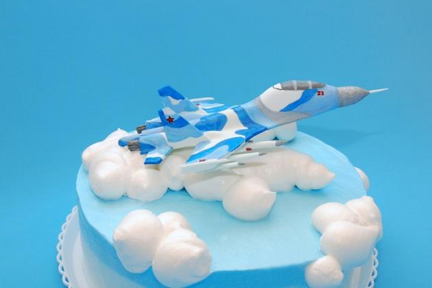 Сделать торт самолет