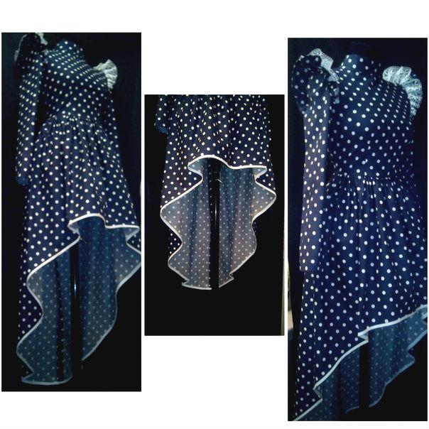 Выкройка каскада на платье