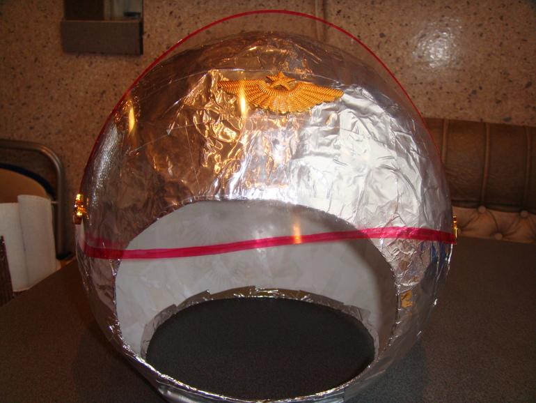Как сделать шлем для ребенка 484
