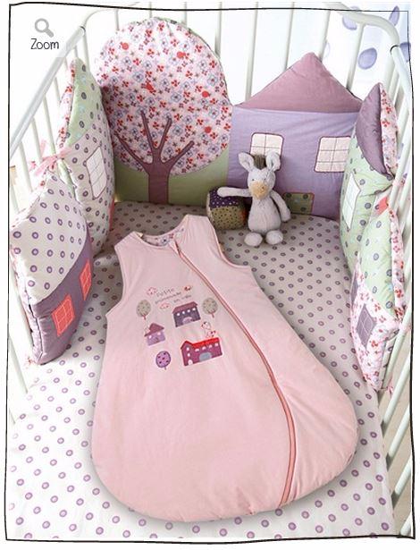 Бортики мягкие для детской кроватки своими руками