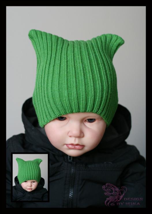 Вязание крючком шапки для мальчика весна