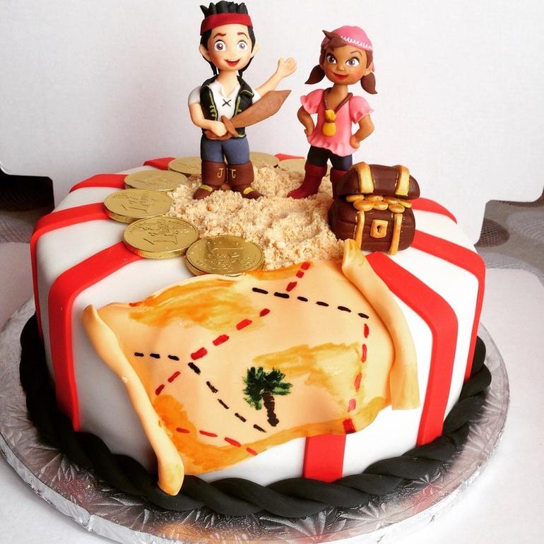 фото торта с пиратом