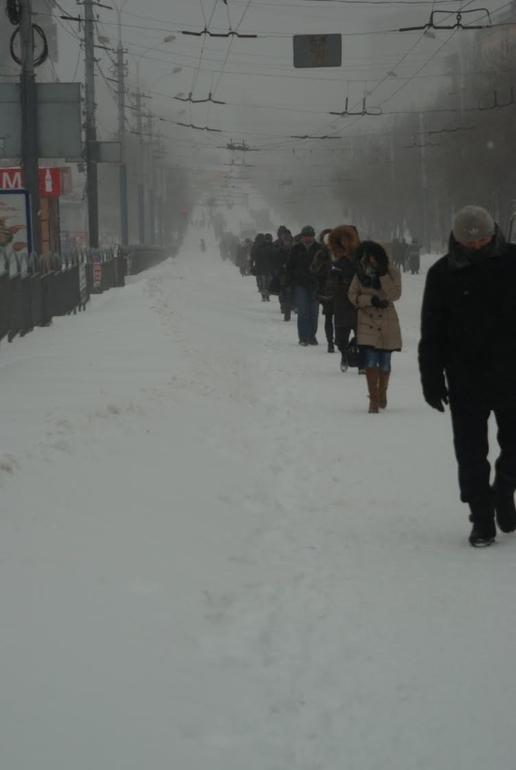 Зима пришла.