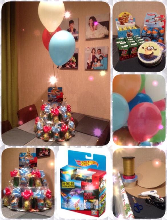 Лучшие сюрпризы на день рождения своими руками 9