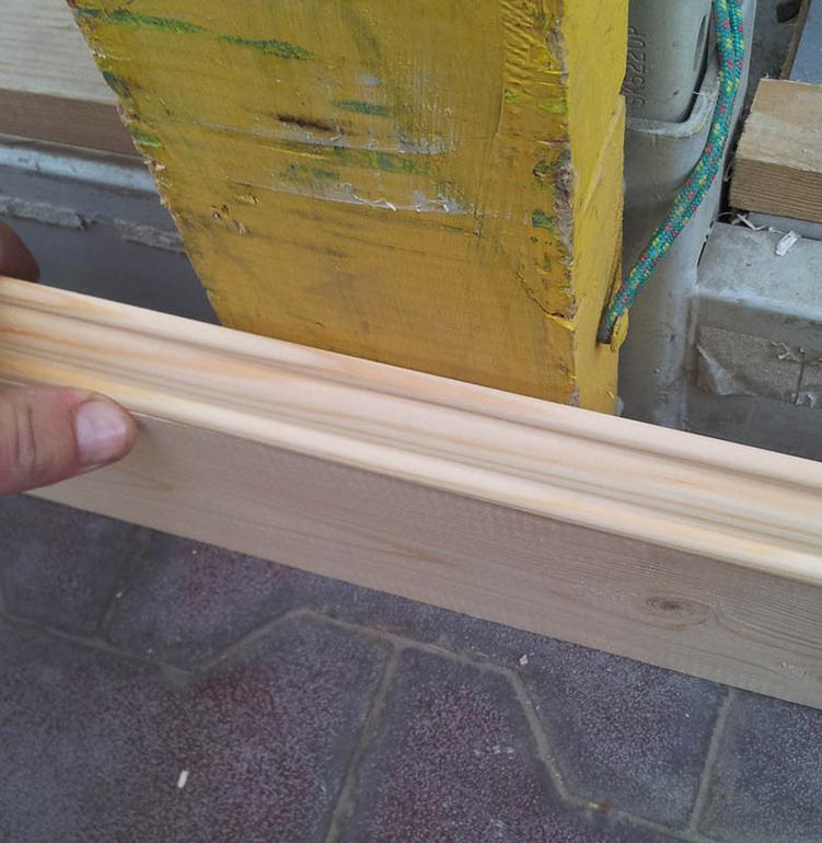 Как сделать деревянные плинтуса своими руками 949