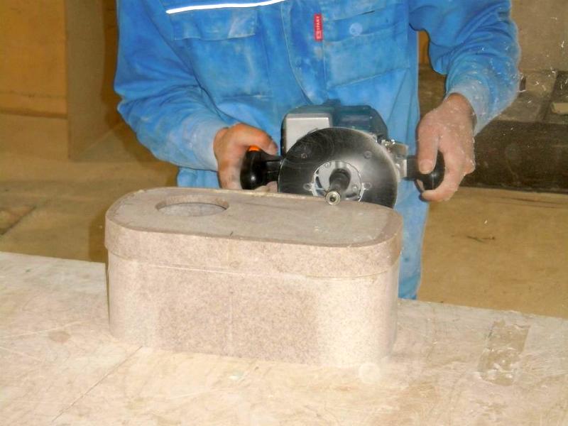 Как сделать мойку из искусственного камня