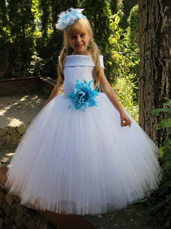 Очень пышные платья для девочек