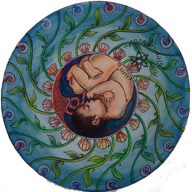Мандала при беременности
