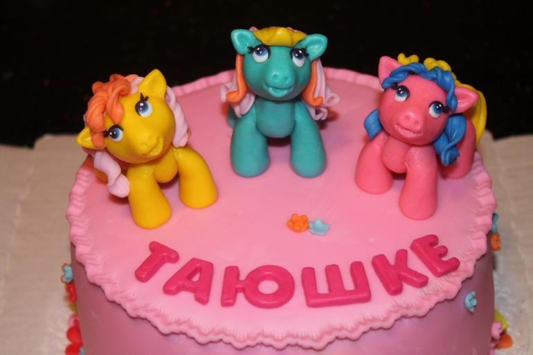Тортик с пони