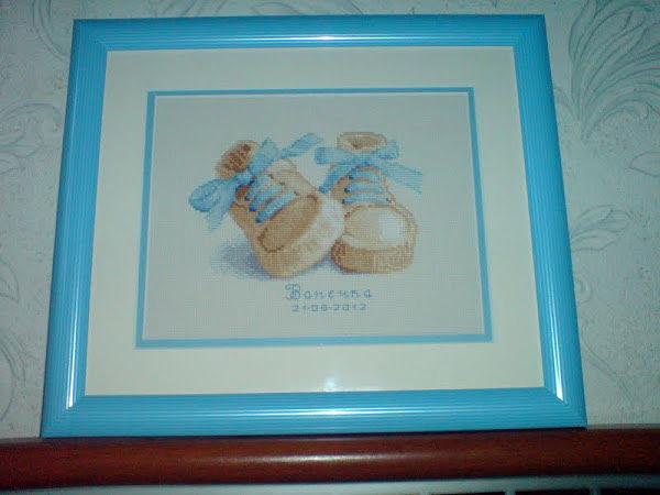 Вышивка для новорожденного фото 65