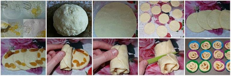 Рецепт булочек домашних пошаговый рецепт