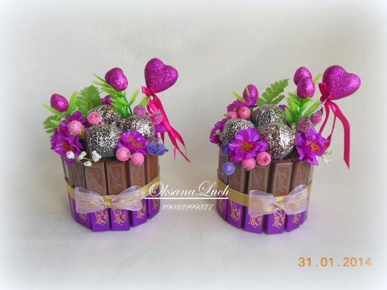 Оригинальный букет из конфет своими руками 22