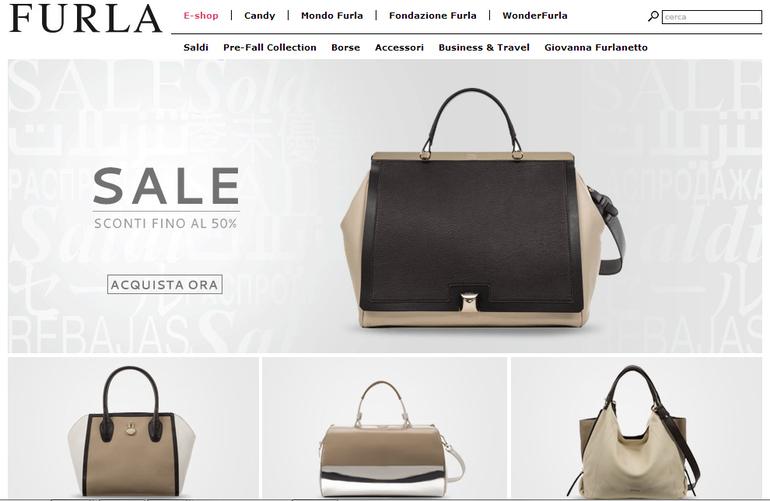 Фурла - дисконт на сумки Furla официального сайта
