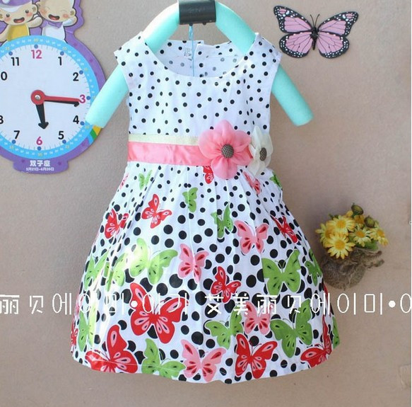 Платье Бабочки 230 руб
