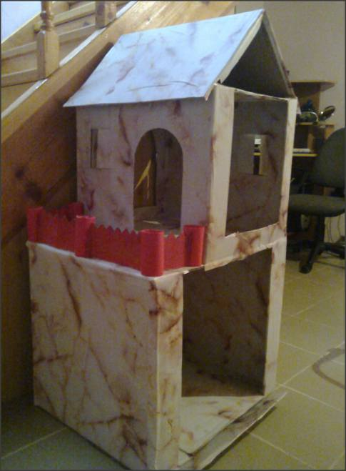 Наш  второй  кукольный  дом