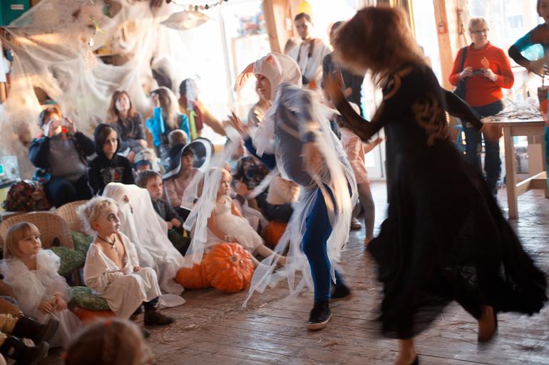 Хэллоуин в Зеленой Школе