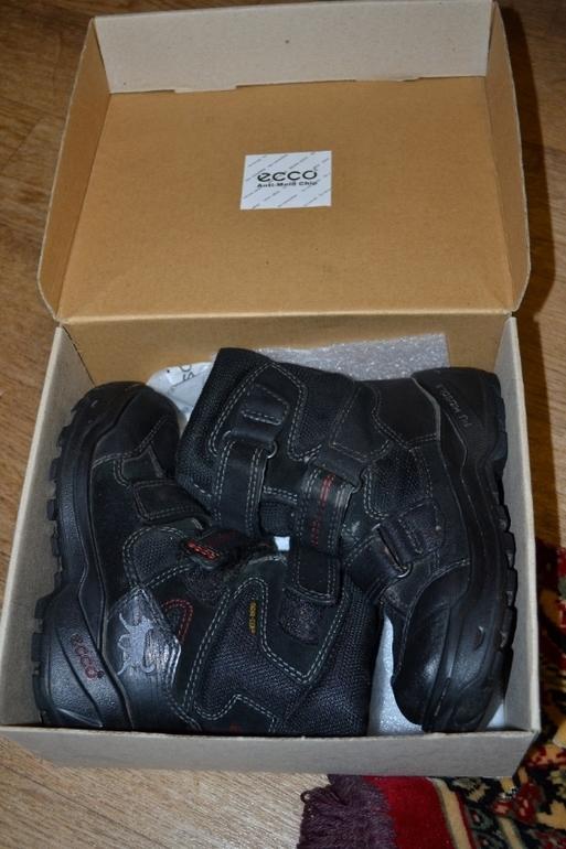 Продам  ботинки  Экко  -500р.