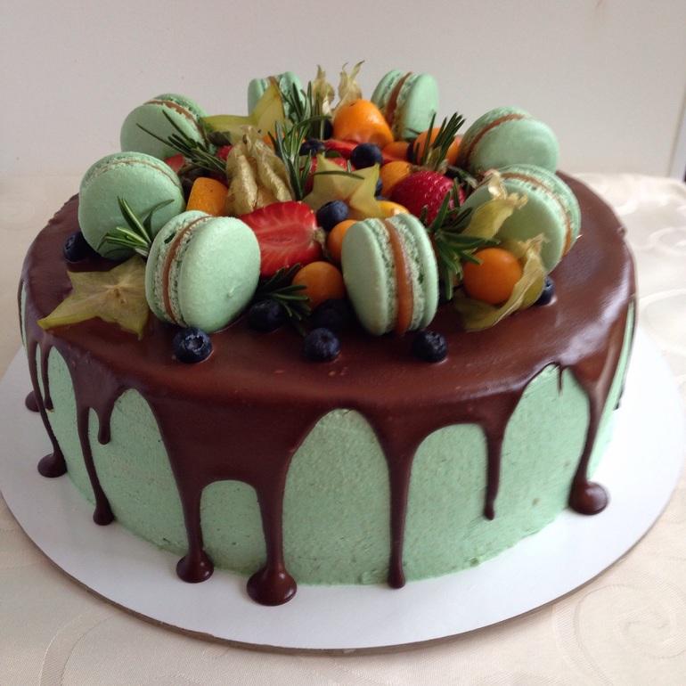 Домашний модный торт