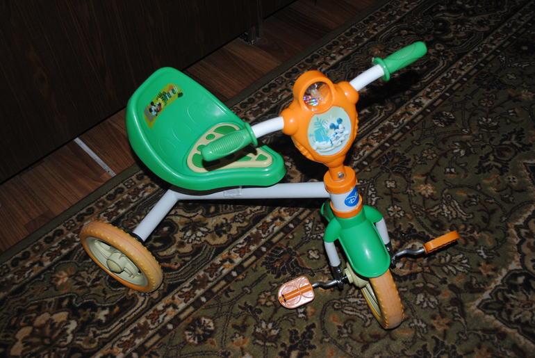 трехколесный велосипед Дисней