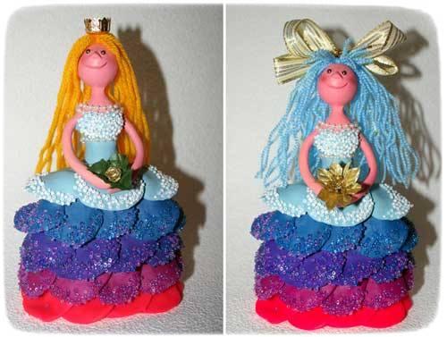 Как сделать куклу из пластилина своими руками