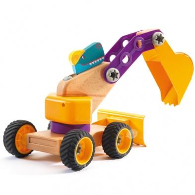 Деревянный конструктор транспорт