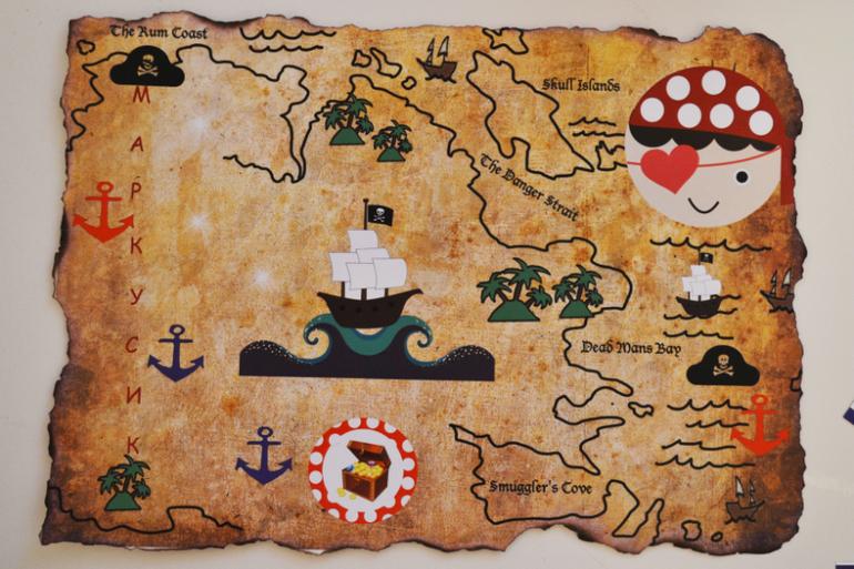 Атрибуты на пиратскую вечеринку своими руками 160