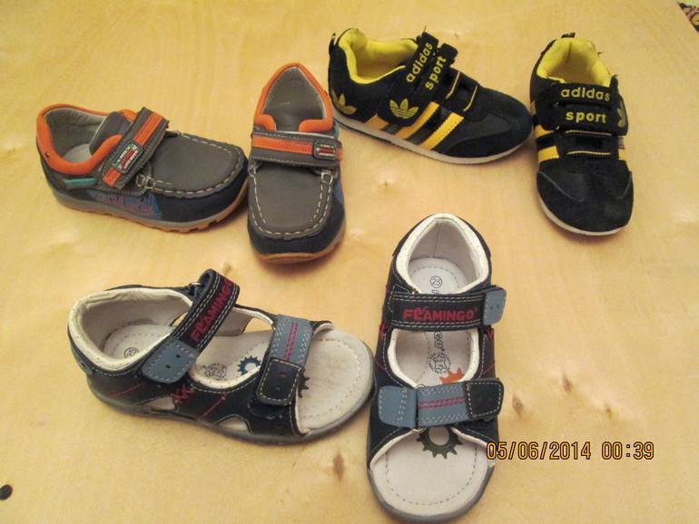 Продам обувь на мальчика.