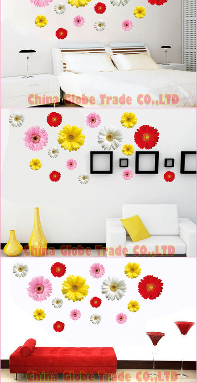 Цветные хризантемы - 220 р