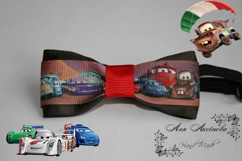 Бабочка галстук для мальчика из ленты 4