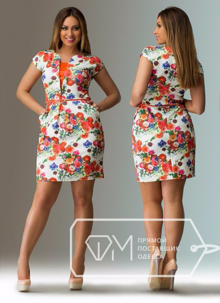 Фасоны летних платьев 50 размера