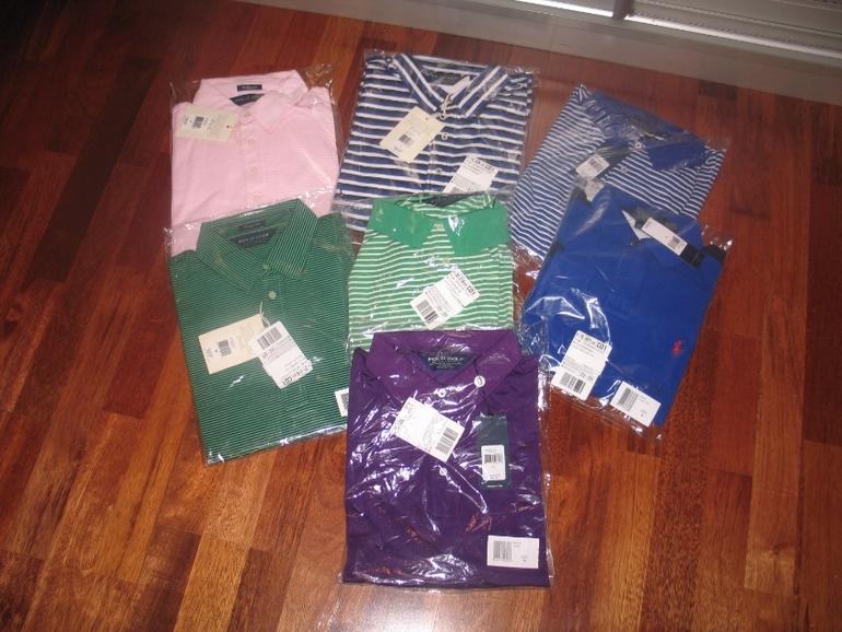 RALPH LAUREN новые футболки поло из США размеры M L XL 2500