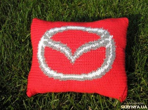 Вязание подушка в машину