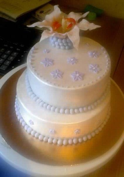 Торт -малышка :)