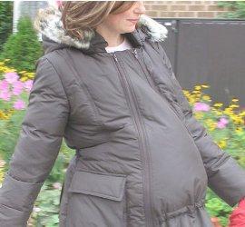 Куртки на пуху для беременных 59