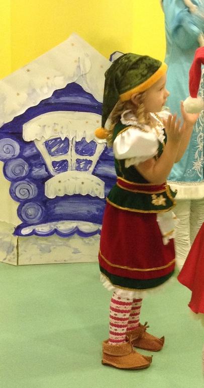 А вот и наш костюм девочки ГНОМА!!!