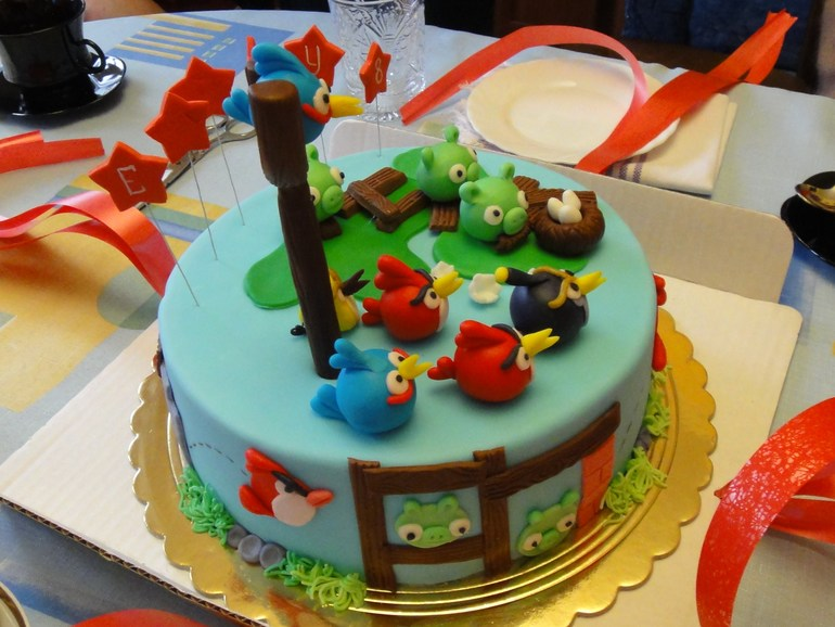 Спасибо кондитеру Юле за прекрасный торт!!!