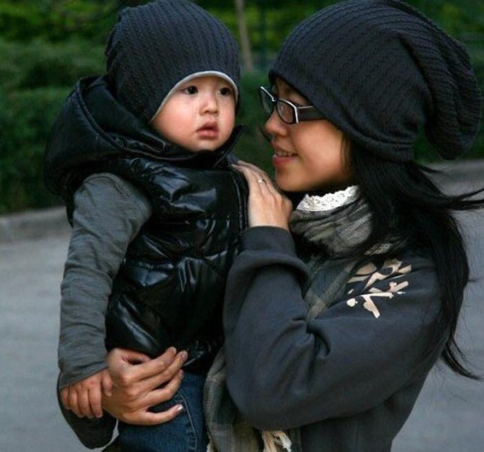 Под заказ! шапки для мам и малышей! по 130 руб, лот из 6шт
