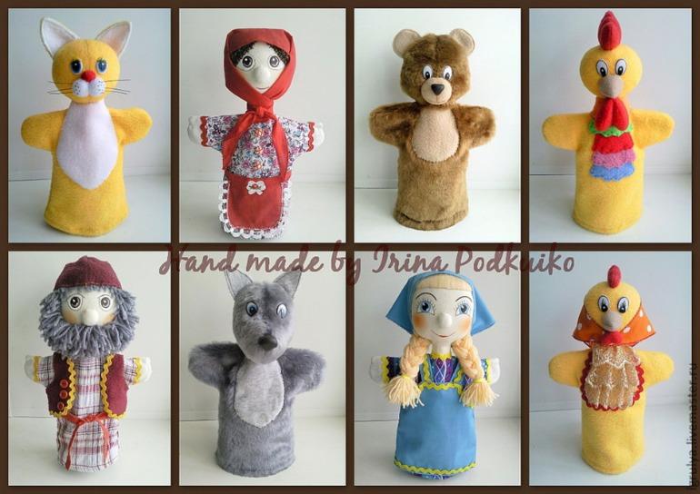 Куклы для кукольных театров своими руками