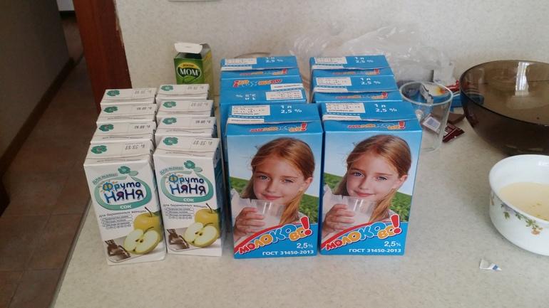 С какого срока беременным выдают молоко 57