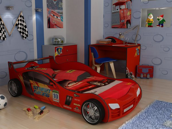 кровать машина фото для мальчика