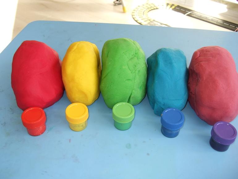 Из самодельного пластилина - Детский конструктор из самодельного пластилина. МК