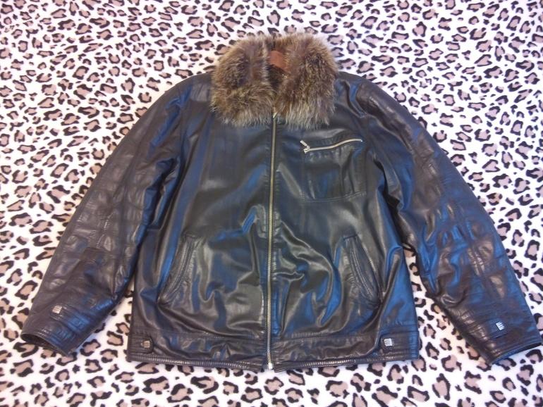 Зимняя Кожанная Куртка Купить